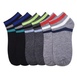 432 Units of POWER CLUB SPANDEX SOCKS (TRUCE) 2-3 - Mens Ankle Sock
