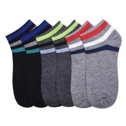 432 Units of POWER CLUB SPANDEX SOCKS (TRUCE) 4-6 - Mens Ankle Sock