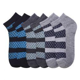 432 Units of POWER CLUB SPANDEX SOCKS (WALL) 6-8 - Boys Ankle Sock