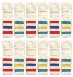 60 of Yacht & Smith Men's 31-Inch Terry Cushion Cotton Extra Long Tube SockS- King Size 13-16