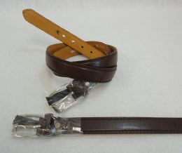 48 of Thin Brown Belt XXLarge Only