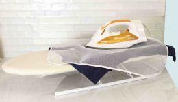 24 Units of Sunbeam Mesh Ironing Scorch Pads, (pack Of 2), White - Laundry  Supplies