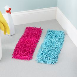 24 of Home Basics Ace Collection Replacement Chenille Mop Pad