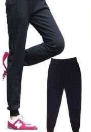 24 Units of Womens Athletic Pants Size Xxlarge Assorted Color - Womens Pants
