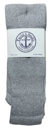 240 Units of Yacht & Smith Men's 31 Inch Cotton Terry Cushioned King Size Extra Long Gray Tube SockS- Size 13-16 - Men's Socks for Homeless and Charity