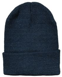 768 Units of Yacht & Smith Black Unisex Winter Warm Beanie Hats, Cold Resistant Winter Hat - Winter Beanie Hats