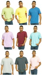 27 Units of Yacht & Smith Mens Assorted Color Slub T Shirt With Pocket - Size 3XL - Mens T-Shirts