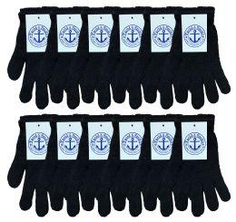 240 Bulk Yacht & Smith Unisex Black Magic Gloves Bulk Buy