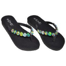 Wholesale Footwear Ladies Flip Flops With Stones
