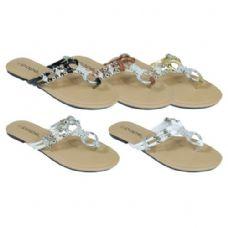 Wholesale Footwear Ladies Fancy Flip Flops