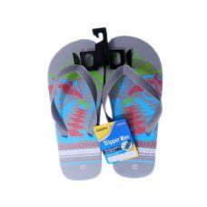 Wholesale Footwear Mens Printed Flip Flops