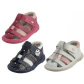 Wholesale Footwear Baby Leather Sandals