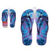 Wholesale Footwear Women's Printed Flip Flop 5-10