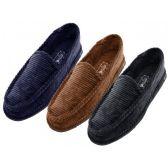Wholesale Footwear Men Corduroy House Shoes