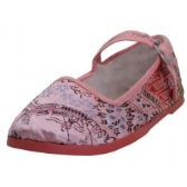 Wholesale Footwear Toddlers' Brocade Mary Janes ( Pink Color Only)
