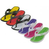 Wholesale Footwear Lady Sport Thong Sandal Assorted Color Size 6-11