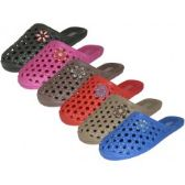 Wholesale Footwear Women's Close Toe Eva Slide Sandals
