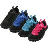 """Wholesale Footwear Children's Lace Up """"wave"""" Water Shoes"""