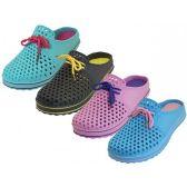 Wholesale Footwear Women's Slip On Open Back Garden Shoes