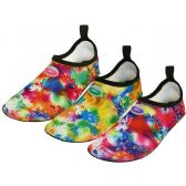 Wholesale Footwear Women's Wave Super Soft Elastic Nylon Upper Fantasy Printed Yoga Sock Water Shoe
