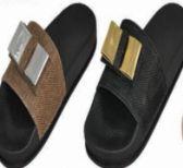 Wholesale Footwear Womens Fashion Bow Decor Slip On Slide Sandal
