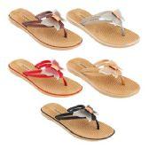 Wholesale Footwear Women's Butterfly Sandals Assorted Color