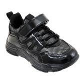 Wholesale Footwear Girls Sneakers Casual Sports Shoes In Black