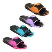 Wholesale Footwear Women's Colorful Slides