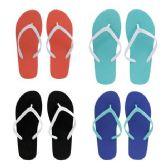 Wholesale Footwear Women's Two Tone Flip Flop