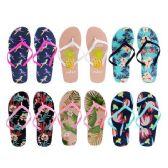 Wholesale Footwear Women's Printed Flip Flop