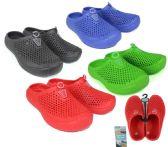 Wholesale Footwear Boy's & Girl's Mule Sport Clogs w/ Ventilated Upper