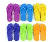 Wholesale Footwear Flip Flop Solid Colors