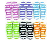 Wholesale Footwear Flip Flop Stripes