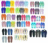 Wholesale Footwear Pallet Of Men's, Women's, and Children's Assorted Flip Flops
