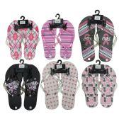 Wholesale Footwear Women's Flip Flops - 3787