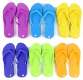 Wholesale Footwear Children's Flip Flops - Solid Colors