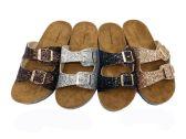 Wholesale Footwear Glitter Birkenstock Women Sandals In Silver