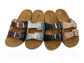 Wholesale Footwear Glitter Birkenstock Women Sandals In Brown