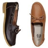 Wholesale Footwear Womens Leather Moc In Black